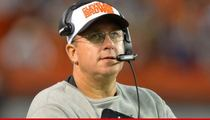 NFL's Andy Moeller  -- Line Coach Sacked In Cleveland ... After Alleged Fiancee Attack