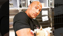 The Rock -- The Puppy I Saved Died ... Victim of Toxic Mushroom (PHOTO)