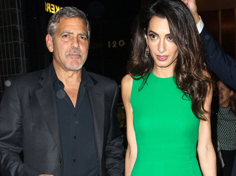 George and Amal Clooney Celebrate One-Year Wedding Anniversary In Style