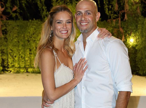 Bar Refaeli Transforms Into Boho Bride For Her Wedding Day -- See Her Dress!