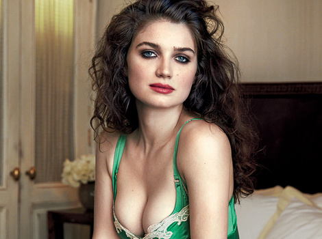 Bono's Daughter, Eve Hewson, Stuns In VERY Low-Cut Lingerie In GQ