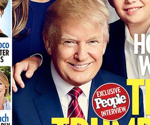 Donald Trump's Son Barron, 9, Makes Magazine Debut -- He's So Big!