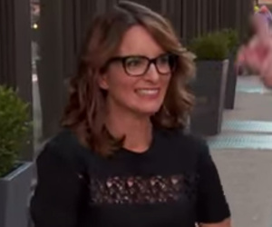 Tina Fey Gets Ambushed By Billy on The Street, Can't Name 20 Latino Performers