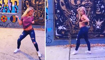 UFC's Paige VanZant -- Bringin' Sexy Back ... With Ass-Shakin' Dance Video