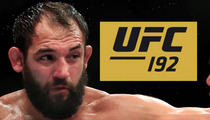 UFC Champ Johnny Hendricks -- FIGHT CANCELLED ... After Medical Emergency