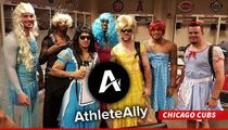 MLB Rookie Hazing -- Cross-Dressing Sends Dangerous Message ... Says LGBT Org.