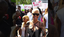 Amber Rose -- You Can Ask Me All About Slut-Shaming ... But Keep Kim & Kanye Out Of It!!