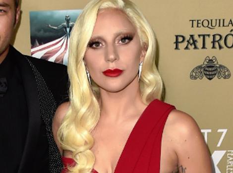 "Lady Gaga & Taylor Kinney Stun At ""American Horror Story: Hotel"" Premiere"