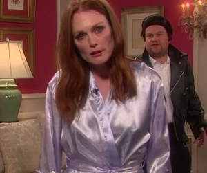 Julianne Moore & John Stamos Act Out Taylor Swift-Inspired Soap Opera on…