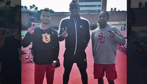 Usain Bolt -- At Least One Athlete's Getting Paid at USC