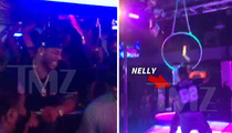 Nelly Makes it Rain in Dallas Strip Club ... Shake Ya Tailfeather! (VIDEO)