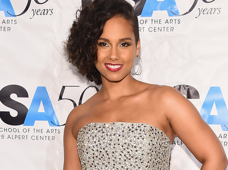 Alicia Keys Steps Out With Her Adorable Son Egypt -- He's So Big Now!