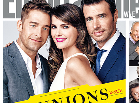 """Felicity"" and ""Family Ties"" Stars Reunite for EW -- See Them Now!"