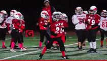 Youth Football Team -- Why Play Football ... When We Can Dance? (VIDEO)