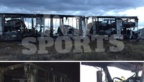 Floyd Mayweather -- 4 Expensive Cars Up In Flames ... In Trailer Fire (PHOTOS)