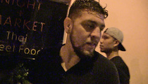 UFC's Nick Diaz -- Surfaces At Hollywood Club ... Props to Cher (VIDEO)