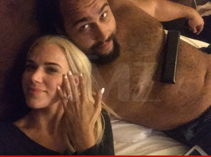 WWE News: Lana & Rusevs Real Life Engagement Acknowledged