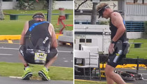 Gordon Ramsay Goes Through Ironman Hell ... Bows Out After Barfing (PHOTOS)