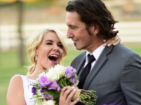 McKenzie Westmore & Patrick Tatopoulos Tie the Knot -- See the Gorgeous Wedding Pics!