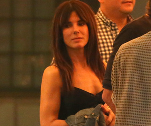 Sandra Bullock Shares PDA with Hot Model Boyfriend Bryan Randall