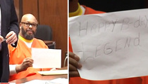 Suge Knight -- Sneaks Courtroom Birthday Message To Son
