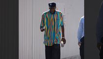 Lamar Odom -- Father Arrives at Hospital (PHOTO)