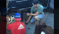 '90210' Star Matt Lanter -- I'll Change Your Flat Tire, But No ... We're Not Gonna Hang Out (PHOTO)