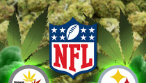 NFL Targets Weed Group -- You Marijuanafied Our Steelers Logo