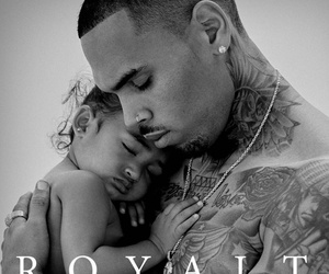Chris Brown Unveils New Album Artwork Featuring Adorable Daughter Royalty