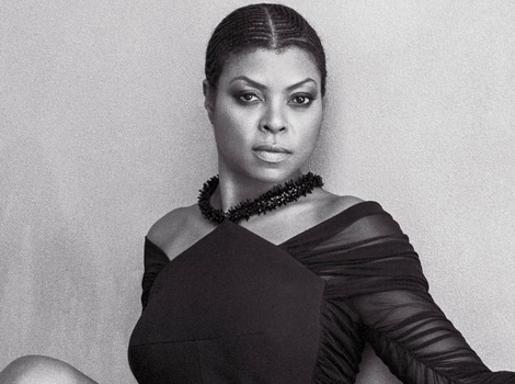 "Taraji P. Henson Reveals Her Natural Hair In CR Fashion Book: ""I Feel Naked"""