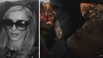 Paris Hilton -- Trapped In an Elevator In China (VIDEO)