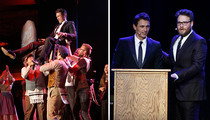 James Franco's Belated Bar Mitzvah ... Mazel Bro!!!