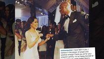 Lamar Odom on the Mend -- Kim Praises God and Power of Faith