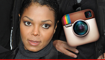 Janet Jackson -- She's in Control of Instagram (UPDATE)
