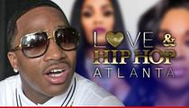'Love & Hip Hop' -- Boxing Star Storms Off Set ... I'm No Man Whore!