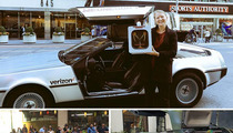 'Back To The Future' Day -- DeLoreans for Hire Thanks to Lyft & Verizon