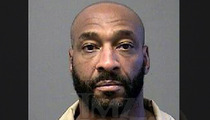 Irving Fryar's Stone Faced Mug Shot ... After Mortgage Conviction