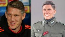 German Soccer Star -- Fuhrious at Toy Company ... You Made Me a Nazi!!!