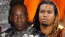 WWE Legend Booker T -- Training Ex-NFLer ... For Pro Wrestling Stardom