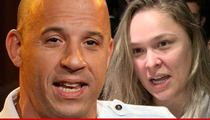 Ronda Rousey's Training Vin Diesel's Daughter ... 'Creating a Beast'