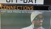 Kobe Bryant In NBA2K16 -- 'Visit Sick Friend' Option ... 'Just a Coincidence'