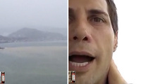 Joe Francis -- High Rise Danger As Hurricane Patricia Blows (TMZ LIVE)