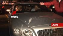 Exclusive: Paris' Car Crash and LAPD Encounter on Tape