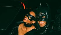 Russell Wilson -- Takes Batmobile to Ciara's Bday ... Parties with Serena, Beyonce, Kelly