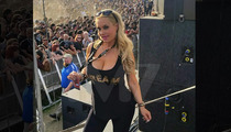 Coco -- Already a Cool Mom ... Unborn Baby's First Metal Show