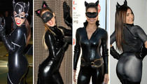13 Purrfect Pics of Sexy Celebrities in Black Cat Costumes For National Cat Day!