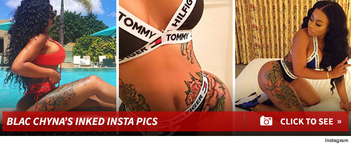 Blac Chyna's Sharpie Talk Is BS ... Future Ink Is Permanent (PHOTO)