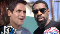 Mark Cuban -- I'm Flying In for Clippers Game ... No Plans to Talk with DeAndre