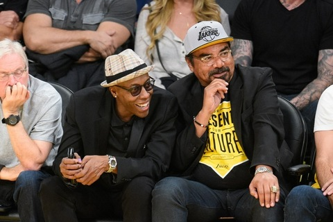 Arsenio Hall and George Lopez