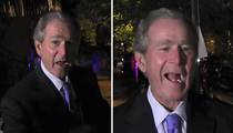 George W. Bush -- Kanye For President? That's Pretty Damn Funny (VIDEO)